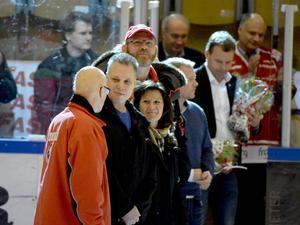 De som hyllades var Henrik Stridh, Jonny Karlsson, Eva Norin Thoresson, Per Bergman, Kenneth Byström, Oscar Dunberg och Bertil Dunberg.