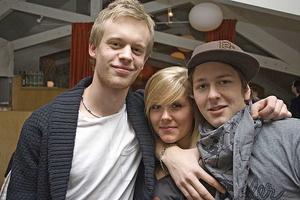 Å. Marcus, Emelie och Anton.