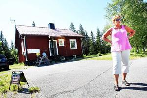 Eeva Göthed som är projektledare för försäljningen av Grytans lägerområde tror att det finns stora möjligheter för trakten.