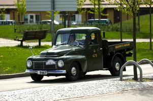 Veteran på tur. På Tunga masträffen fanns bilar från sent 1920-tal till 1960-tal.