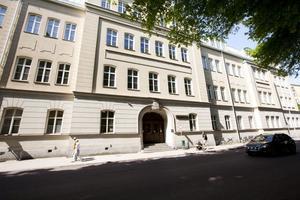 Brottsplats Vasa. Härifrån stals boken.