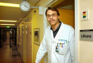 Chefläkare Ulf Nordin.