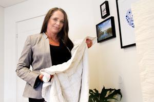 Först när Malin Hammarströms dotter fick testa ett tyngdtäcke började hon sova hela nätterna.