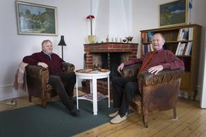Jan-Olof Tedebrand och Lars-Göran Tedebrand känner nu att det är dags att lämna över gården till någon ny ägare – även om de håller Herrgården och dess historia nära hjärtat.