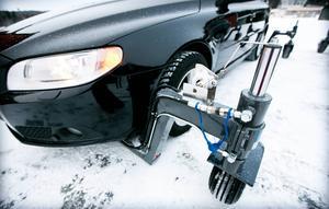 Riggen på en skidcar är hydraulstyrd.