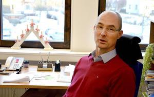 Förvaltningschef Urban Åström tror kommunens skolor kommer att kunna hantera flyktingströmmen på ett bra sätt.