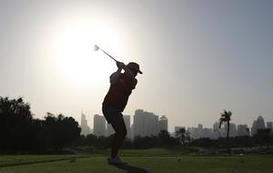 Bilden är en genrebild för golf och visar inte Johanna Gustavsson under helgens tävlingar.