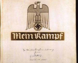 En gammal utgåva av Hitlers