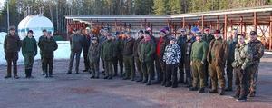 Rekord. När Orsa jaktvårdskrets för tredje året i rad avslutade jaktsäsongen med klappjakt på räv ställde 35 jägare upp.