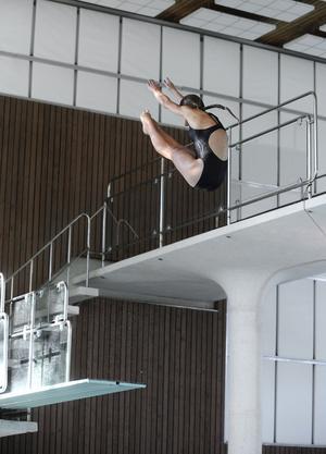 Framtidshopp. Veronika Lindahl är en av de VSS-talanger som snart kan hoppa från säkra sviktar.