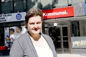 Annica Norling, Kommunal Mitt, tycker att det är självklart att få betalt när man är på jobbet.