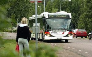 """""""Tillgängligheten till vår vårdcentral är för dålig. Bussen borde stanna vid den hållplats som ligger närmast vårdcentralen"""", tycker Signe Eriksson. Foto: Anna Klintasp"""