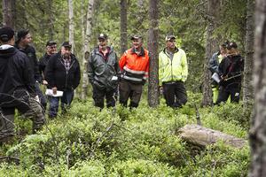 Cirka 100 skogsmaskinförare från Hälsingland och Härjedalen fick utbildning i miljöhänsyn vid avverkning i området av Los och Bollnäs.