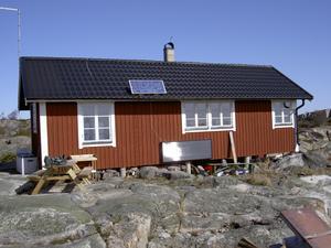 Karl-Axel Östs stuga på Kläppen har varit en het fråga i mer än tio år.Foto: NORRTÄLJE KOMMUN