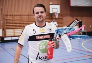 Mattias Karlsson, lagkapten i Håsta som planerar att sluta efter säsongen.