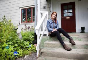 Amanda Erixån hemma på besök.