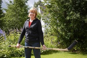 Helene Ersson, ordförande i Medelpads Ishockeyförbund.