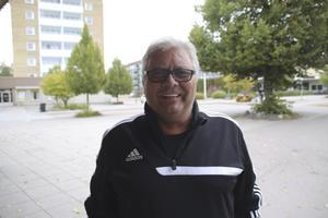 Pekka Koski, 64 år, pensionär, Fagersta: – Grillad ytterfilé, det är enkelt och riktigt gott.