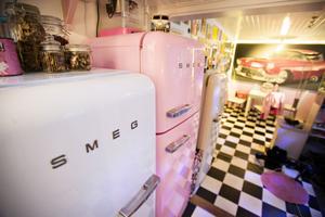 1950-talet går igen även i kyl-och frysvalet, med både nytt och begagnat.