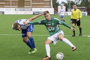Oscar Karlsson i Bragetröjan.