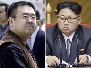 Till vänster Kim Jong Nam, halvbror till  Kim Jong Un, diktator i Nordkorea.