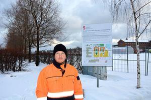 Saneringen av Inre Hamnen, där Skanska planerar att bygga, ska påbörjas nu, berättar projektledaren Patrik Karlsson, Sundsvalls kommun.