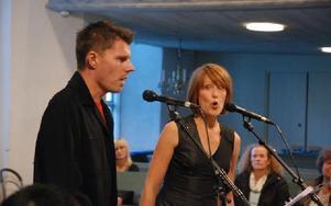 Det blev en musikalisk högtidsstund i Leksands kyrka i lördags. Foto: Gustaf Berglund