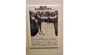 """""""Skandal"""" var Expressens rubrik när Gudrun Wall lyftes av spåret år 1968."""