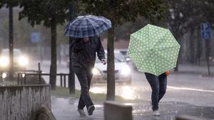 Mer regn väntas i länet, men några solchanser finns. Foto: Johan Nilsson / TT