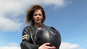 Rebecca Nissebys motorintresse startade redan på dagis.