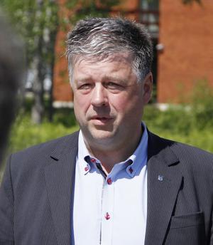 Kommunalrådet Kjell Jansson (M) tror att den nya vägen kommer att bli en tillgång för Norrtälje och kommunens invånare. Foto: Måna J Roos