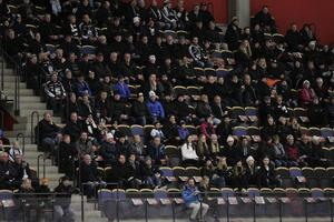 Tomma stolar i Göransson Arena.