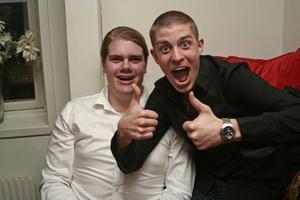 Å. Jonas och Allan.