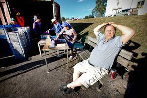 Ulf Eliasson har jobbat länge i bärbranschen. – Jag har fyra camper. En del har 15 stycken, men hur hinner man då, säger han.