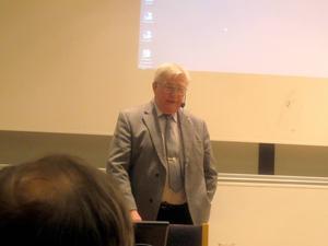 Bo Pellnäs menar på att Sveriges försvar är otillräckligt i dessa oroliga tider. Foto: Christina Engholm