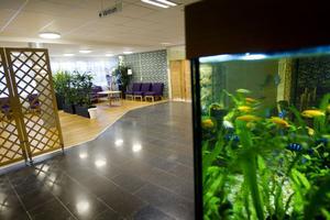 Nymålade väggar, nya golv och möbler har ingått i psykiatrilokalernas ansiktslyftning.