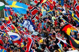 Åke Ljusberg menar att skidskyttet kommit att innebära ett allt större pr-värde i takt med framgångarna, samt att det syns mer på tv. Bilden från skidskytte-VM i Östersund i februari 2008.Foto: Ulrika Andersson