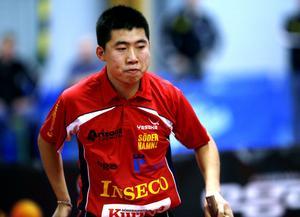Enligt tränaren Peter Blomquist är kinesen Sun Jian lika bra nu som förra säsongen.