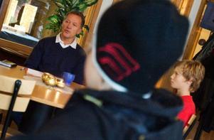 Benny Brovinger är chef för de kommunala fritidsgårdarna och håller i arbetet med utformningen av morgondagens fritidsgårdsverksamhet.