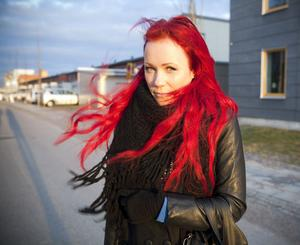 Desirée Serung är en av initiativtagarna till Gävles första bloggfest.