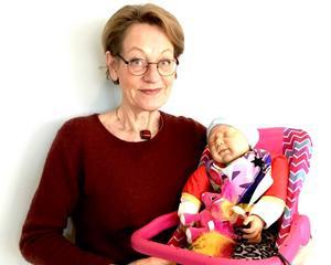 Gudrun Schyman, partiledare för Feministiskt initiativ, har träffat sitt namne och stöttar kampen.