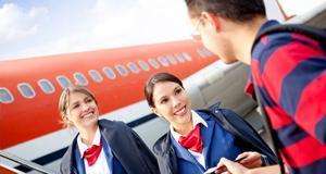 Män i 30-årsåldern är flygvärdinnors favoritpassagerare.