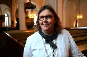 Pernilla Lundström, församlingspedagog i Mora församling.