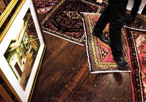 Bland föremålen fanns både målningar och orientaliska mattor.