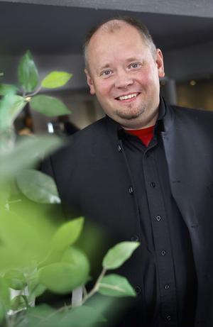 Johan P Bång pratade om vikten av tekniska innovationer.