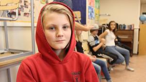 Viggo Klockars går i sjätte klass på Söderbaumska skolan.
