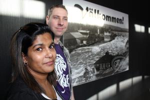 Maria och Tomas Hellman Ivarsson driver Köket i gränden. De är först ut i Avesta att få ha öppet till två på natten.