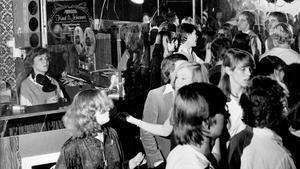 Disco. Klädstilar och dansstilar varierade men discot var helgens höjdpunkt för många. Knut & Johanna var populärt i slutet av 1970-talet. Den här bilden togs 14 januari 1979.