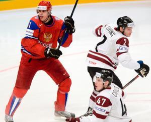 Visar storform. Malkin nätade direkt mot Lettland.
