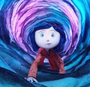 """Animerade """"Coraline"""" bjuder på både skönhet och skräck."""